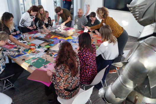 Workshop Tintenkillers Vrijgezellendag Kessel