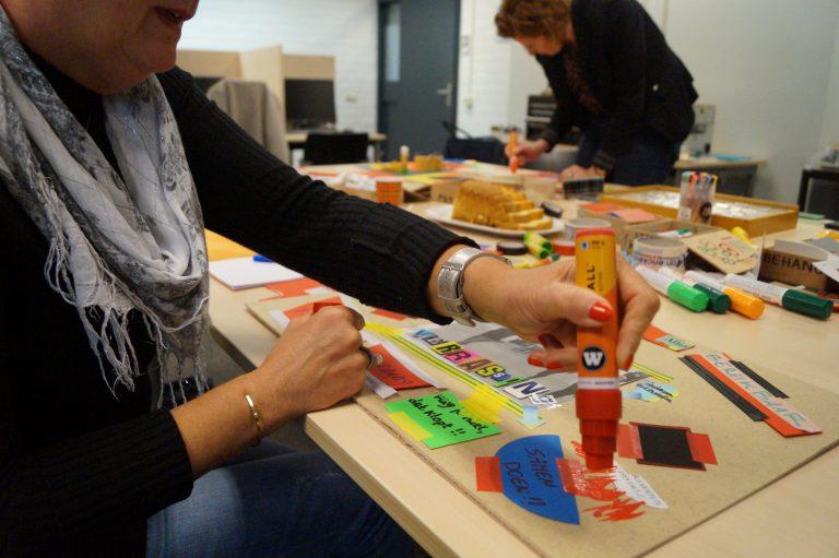 Taalbeeld workshop Tintenkillers Meester in je Werkweek